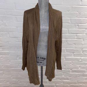 Lane Bryant women's 26/28 wool blend cardigan